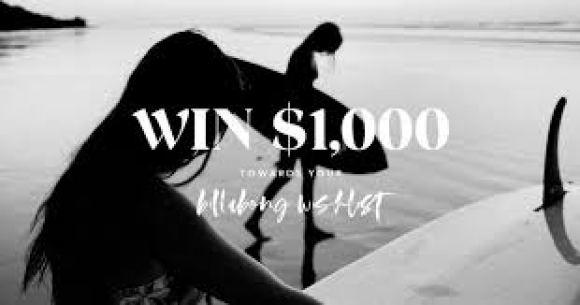 Billabong Win Your Wishlist $1000 Sweepstakes