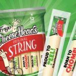 Frigo Cheese Heads Chomp Sweepstakes (likeacheesehead.com)