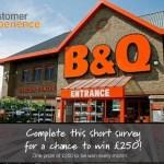 B&Q Customer Feedback Survey (survey.euro.confirmit.com)