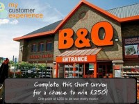 B&Q Customer Feedback Survey