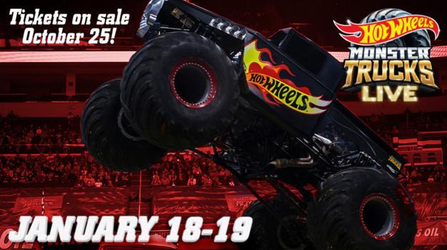 Hot Wheels Monster Trucks Live Sweepstakes