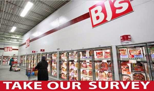 Win $500 BJ's Gift Card in BJ's Feedback Survey