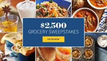 Bhg Grocery 2500 Sweepstakes 2020 Bhg Com