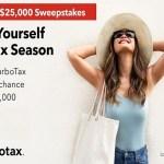 TurboTax $25000 Sweepstakes (turbotax.intuit.com)