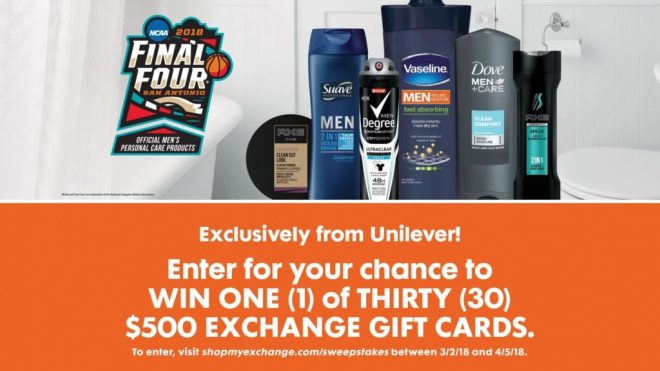Unilever NCAA March Madness Sweepstakes