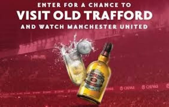 Chivas H2 Manchester United Sweepstakes