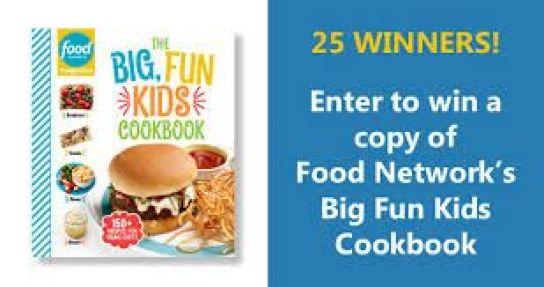 Food Network Magazine Big, Fun Kids Cookbook Sweepstakes