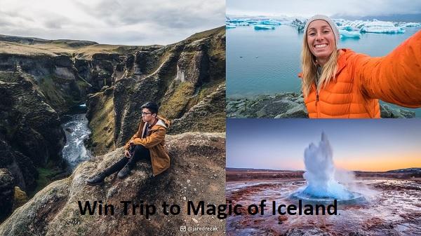 Omaze Iceland Sweepstakes