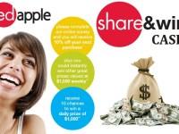 Tell Red Apple Feedback Survey