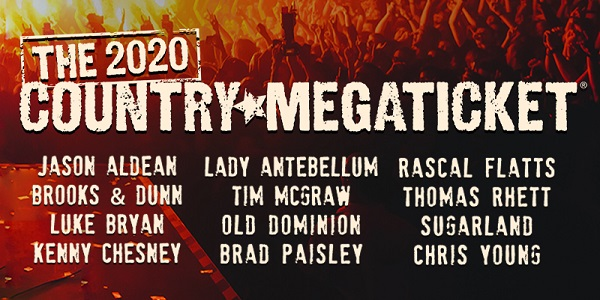 SiriusXM Country Megaticket Sweepstakes