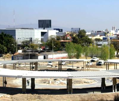 Parque urbano casi listo para abrir
