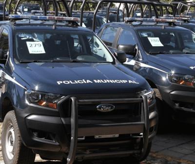 Adquiere el municipio 30 patrullas y otros vehículos para la SSC por 27 millones de pesos