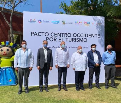 """Presentan avances de campaña """"Viaja en Corto"""" de la primera Alianza nacional """"Pacto Centro Occidente por el Turismo"""""""
