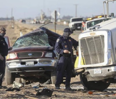 Identifican a 3 guanajuatenses fallecidos en accidente automovilístico en Del Río, Texas; eran de Tarimoro