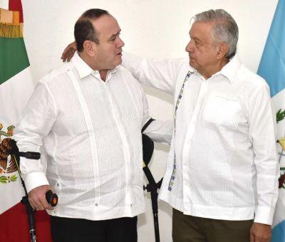 Presidente de Guatemala inicia viaje de dos días a México