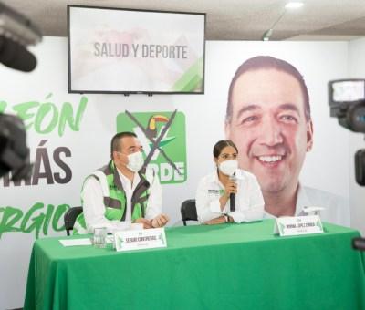 Presenta Sergio Contreras, soluciones en salud y deporte
