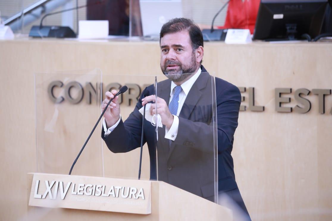 Respondimos a los guanajuatenses con un trabajo responsable en beneficio de todos: diputado Jesús Oviedo