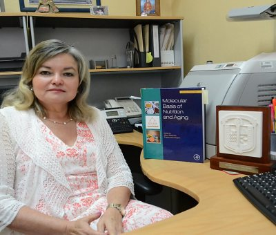 Dra. María Eugenia Garay Sevilla, primera mujer del Campus León que obtiene el nivel III en el SNI