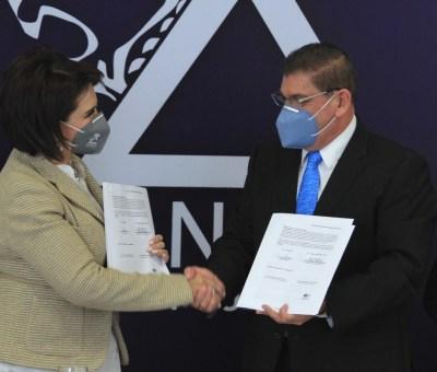 Firman convenio de colaboración INAEBA y CANACO SERYTUR