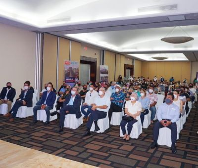 Isaac Piña, candidato del Partido Acción Nacional (PAN) a la Presidencia Municipal, presento su propuesta de gobierno
