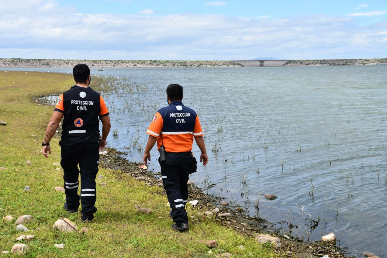 Monitorean presas y arroyos para evitar riesgos