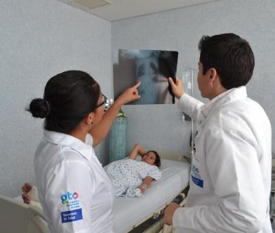 SSG informa de cartera de servicios del programa de prevención y control de la tuberculosis