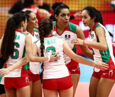 Listo el serial femenil de voleibol México-Colombia