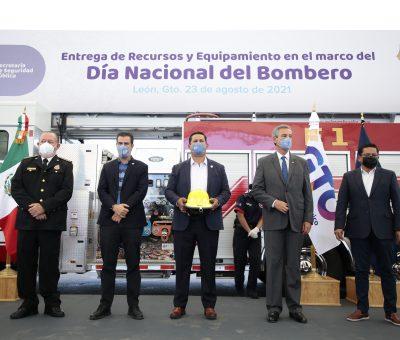 Conmemora Guanajuato día Nacional del Bombero