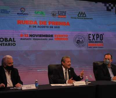 XXVI Expo Agro-Alimentaria Guanajuato será la sede del Foro Global Agroalimentario