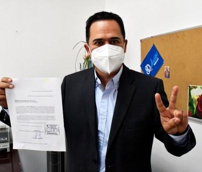 Solicita Lalo López Mares licencia a su cargo para contender por la Presidencia del Comité Directivo Estatal del PAN