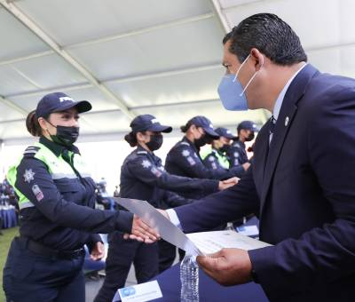 Guanajuato cuenta con más de mil nuevos policías y especialistas en Seguridad Pública