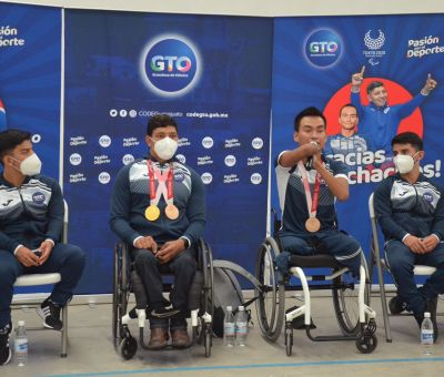 Recorren la entidad deportistas Paralímpicos de Tokio 2020