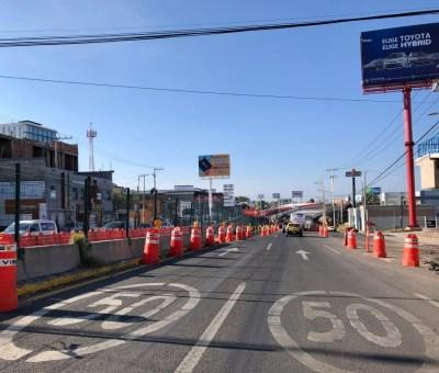 Avanza construcción de la segunda etapa del  Distribuidor Vial Santa Fe, en Guanajuato