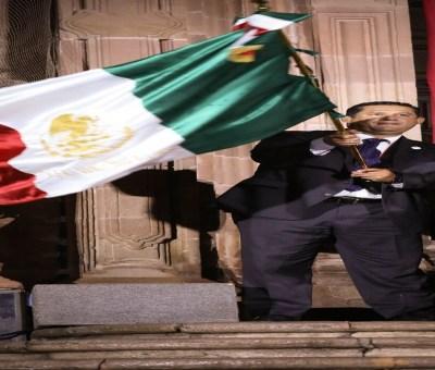 Da Gobernador de Guanajuato el Grito de Dolores
