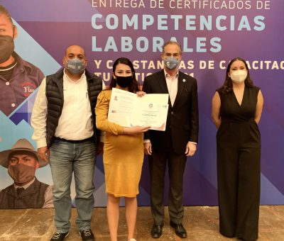 Garantiza Guanajuato capital humano, certificado en Turismo
