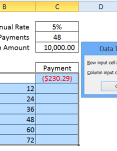 Data table input cell also how to use excel tables rh contextures