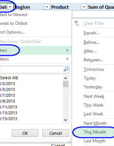 Date filter between also excel pivot table filters rh contextures