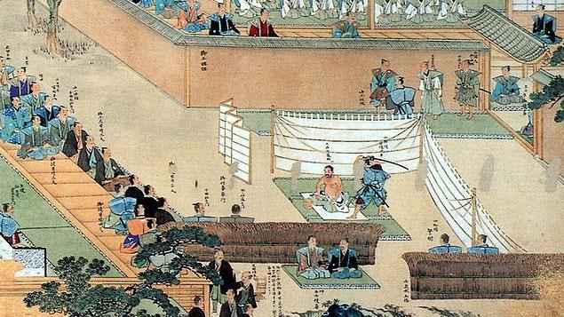 Rituel de Seppuku Samurai