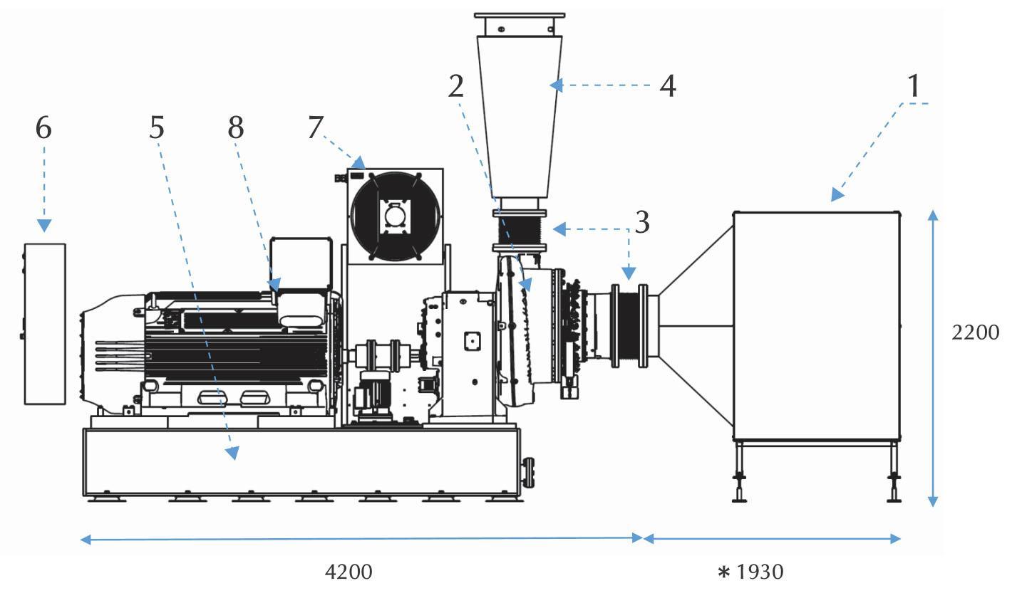 Compressor Model TCH-15.1
