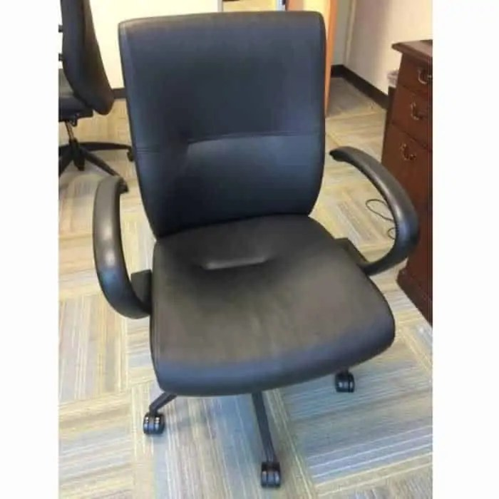 Black Leather Conference Room Chairs Continental Office Group