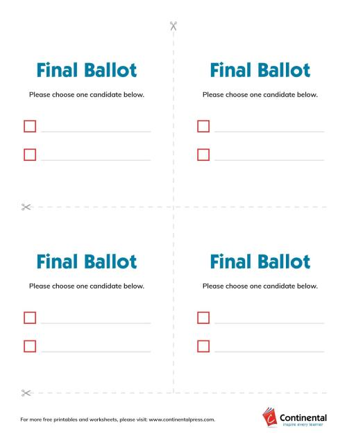 small resolution of Election Day Lesson Plans: Fun \u0026 Focused Ideas for All Ages   Continental
