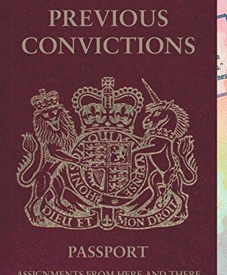 AA Gill - Previous Convictions