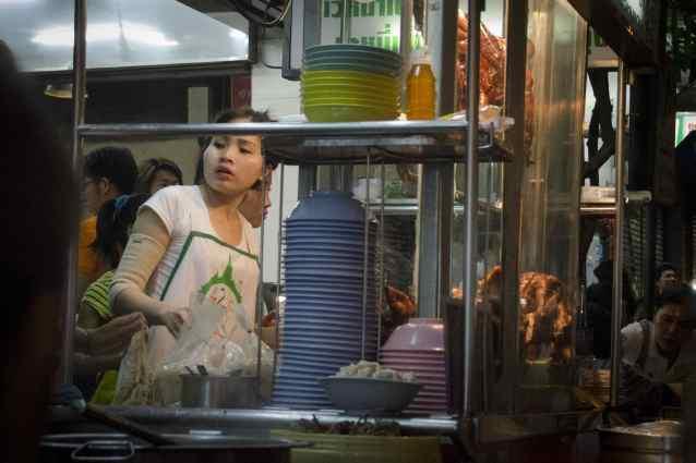 Bangkok Thai Cuisine - A Street-Food Soup Stand