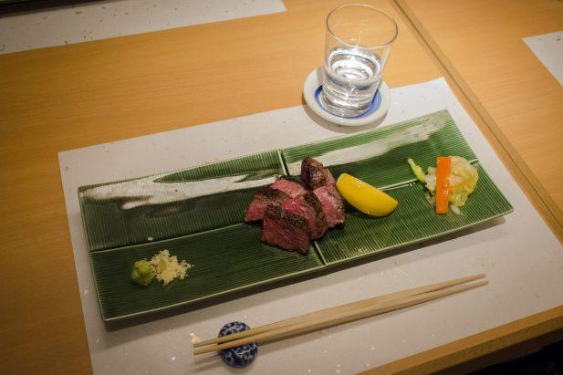 Hayama - Wagyu Beef Restaurant, Tokyo: Beef Tataki