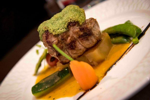 La Poule Noire, restaurant in Marseille - Lamb in a Rosemary Sauce
