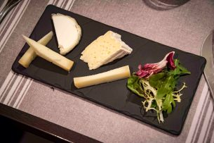 La Poule Noire, restaurant in Marseille - The cheese plate