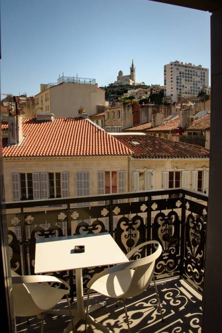 Hotel C2, Luxury Accomodation in Marseille - The View from a Room