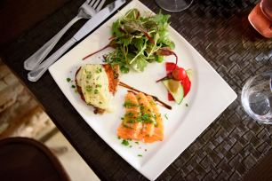 La P'tite Cocotte, where to eat in Old Nice - The Gravlax Dish