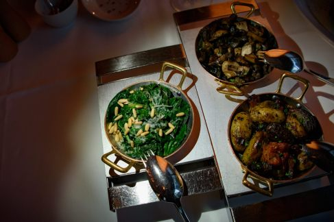 Parkhuus restaurant, Zurich: Side dishes