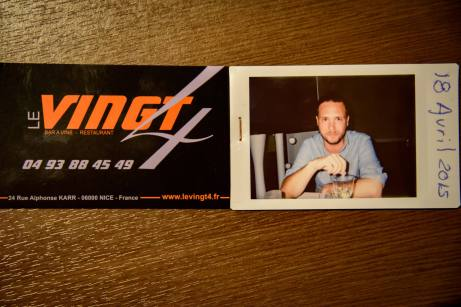 Le Vingt4 in Nice, France: I Was There